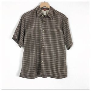 The North Face Plaid Short Sleeve Shirt